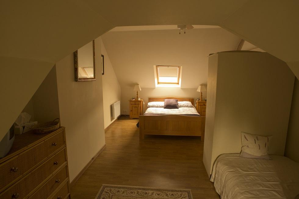 Villa Gite Triple Bedroom