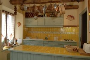 Gite Brittany sleeps 8 Kitchen