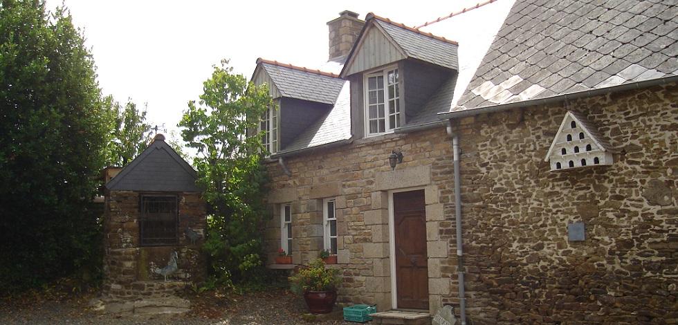 Villa Gite Cottage Brittany Hirondelle