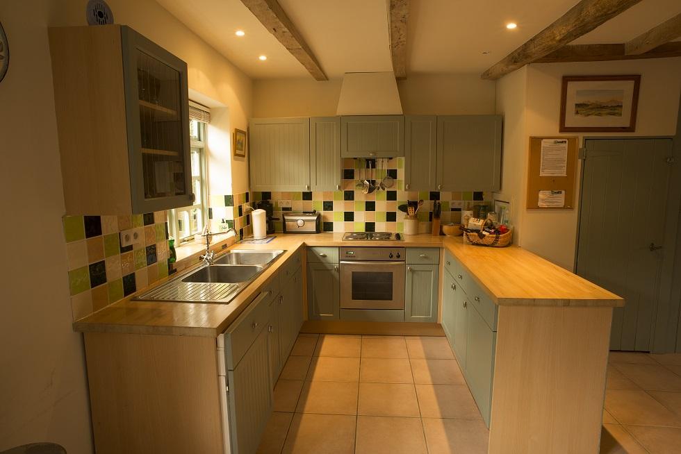 Cottage Villa Gite Kitchen Brittany
