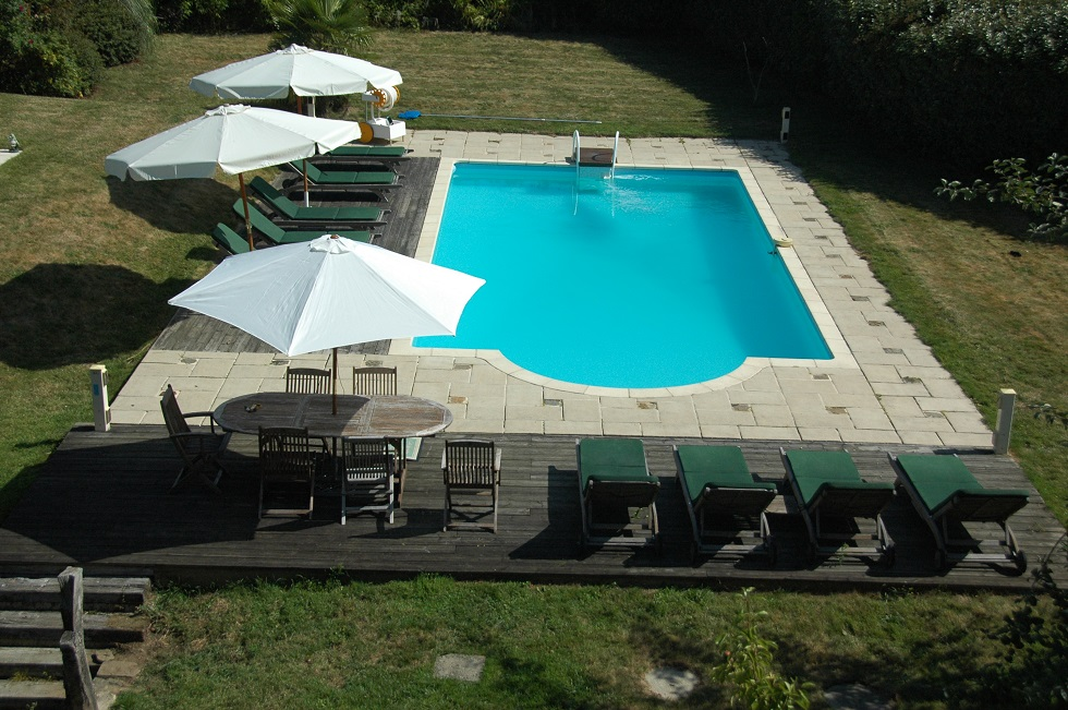 Brittany Holiday Gites heated swimming pool