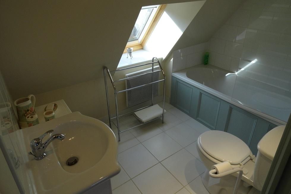One bedroom gite full bath