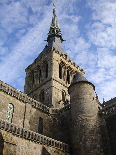 Mont St Michel Spire